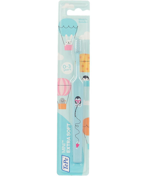 Зубная щетка сверхмягкая TePe Mini™ 0-3, X-soft
