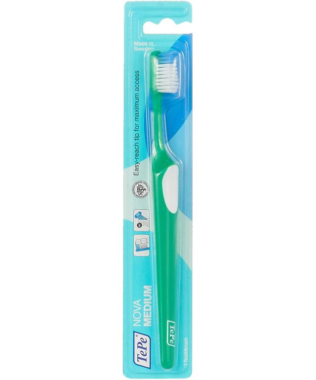 Зубная щетка средняя TePe Nova™, Medium, SRP