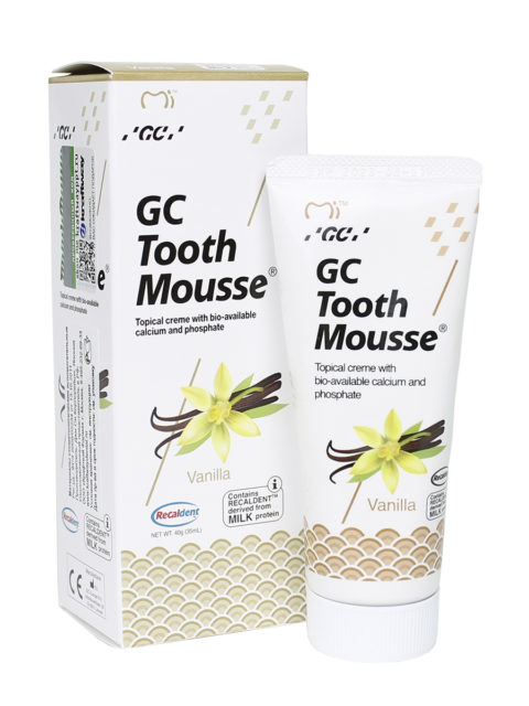 GC Tooth Mousse Ваниль 1