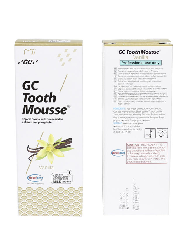 GC Tooth Mousse Ваниль 2