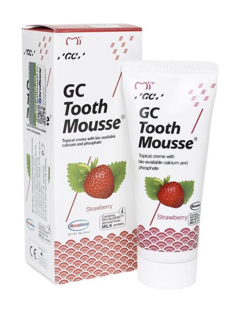 GC Tooth Mousse Клубника 1