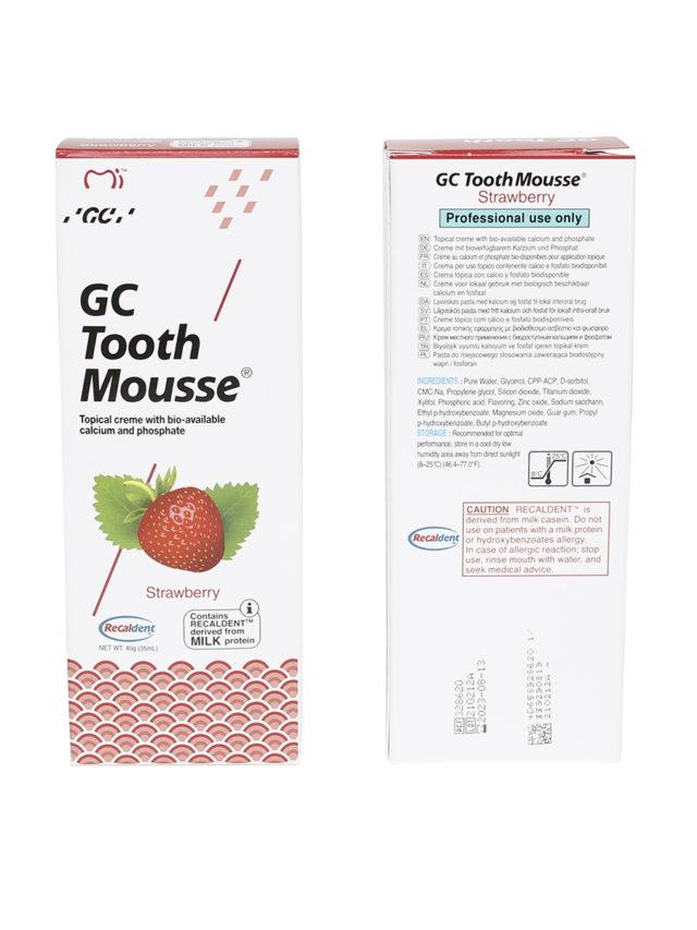 GC Tooth Mousse Клубника 2
