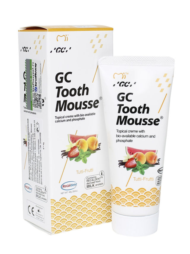 GC Tooth Mousse Мультифрукт 1