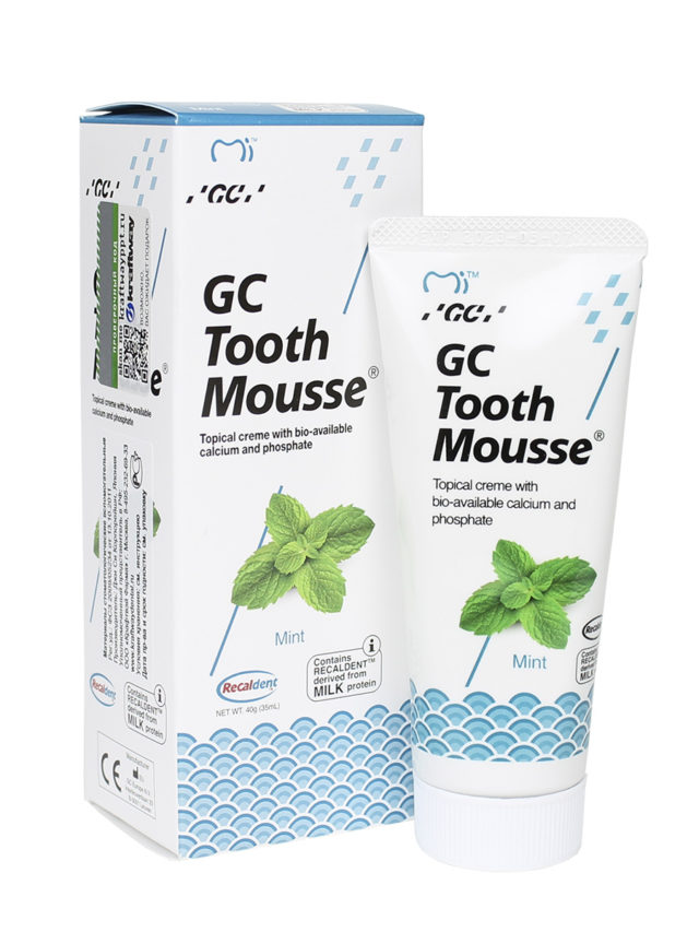GC Tooth Mousse Мята 1