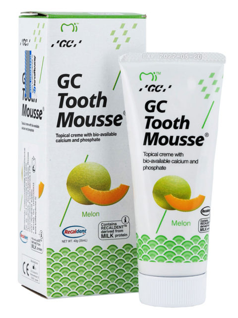 GC Tooth Mousse Melon, Тус Мусс Дыня
