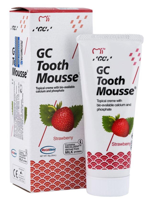 GC Tooth Mousse Strawberry, Тус Мусс Клубника