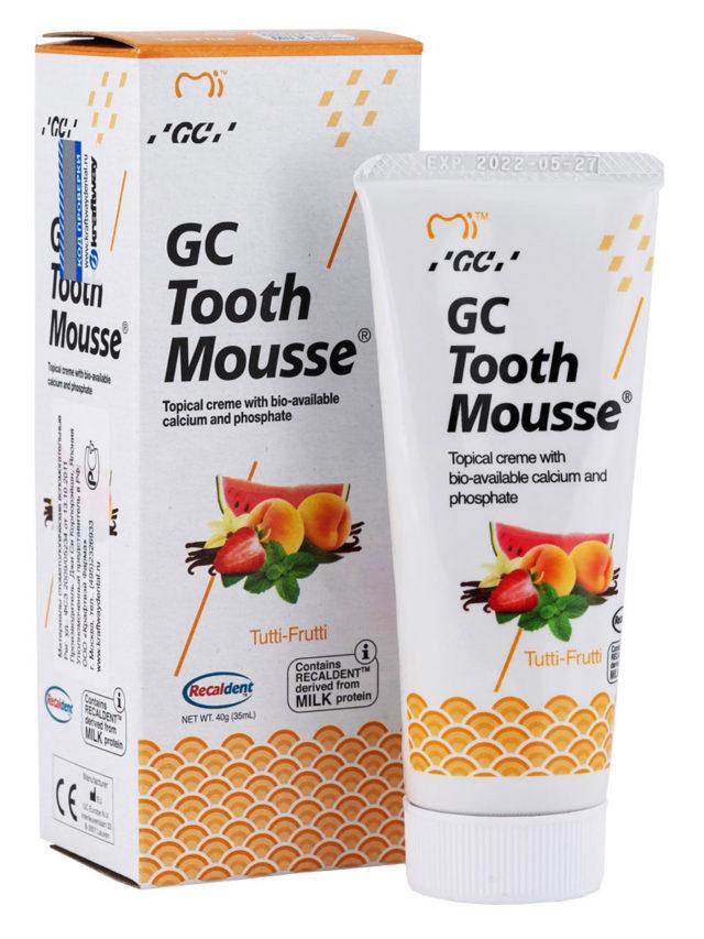 GC Tooth Mousse Tutti-Frutti, Тус Мусс Мультифрукт