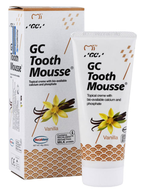 GC Tooth Mousse Vanilla, Тус Мусс Ваниль