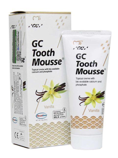 GC Tooth Mousse Vanilla, Тус Мусс Ваниль 1