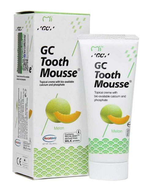 GC Tooth Mousse Melon, Тус Мусс Дыня 1