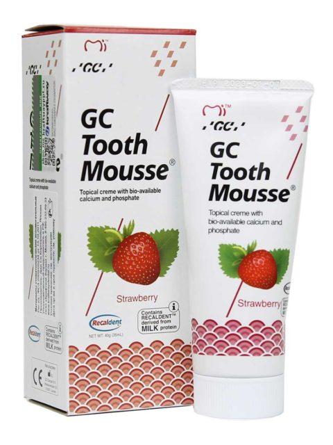 GC Tooth Mousse Strawberry, Тус Мусс Клубника 1
