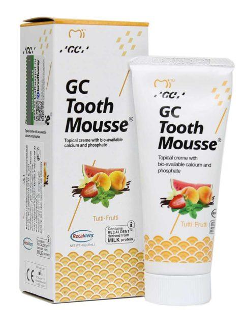 GC Tooth Mousse Tutti-Frutti, Тус Мусс Мультифрукт 1