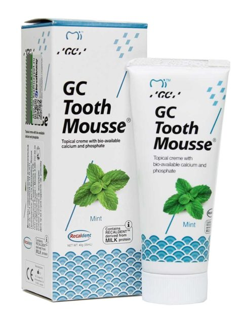 GC Tooth Mousse Mint, Тус Мусс Мята 1